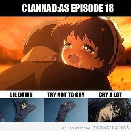 clannad cry