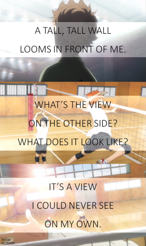 haikyu quote