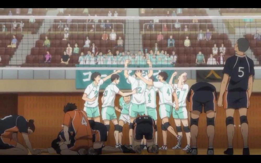 Karasuno defeat