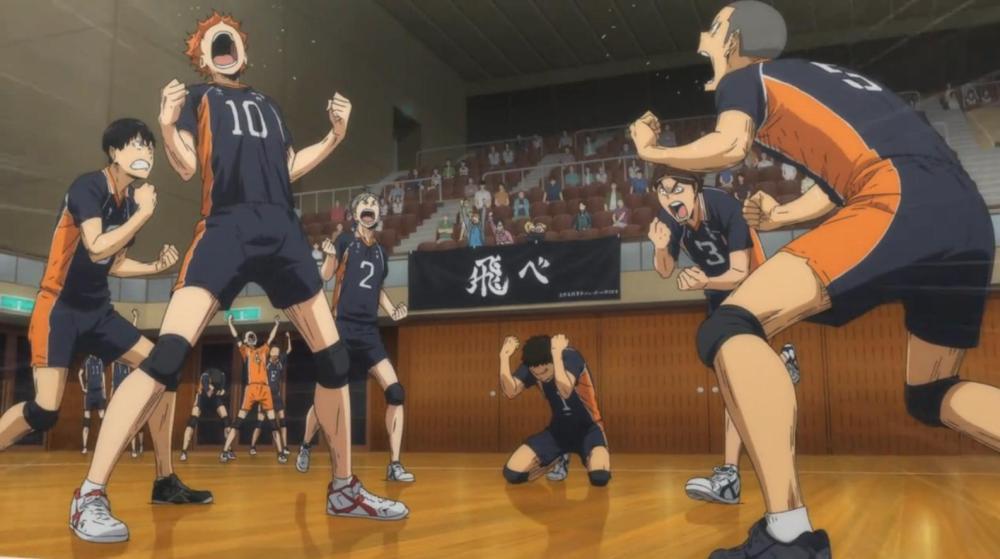 Karasuno Wins