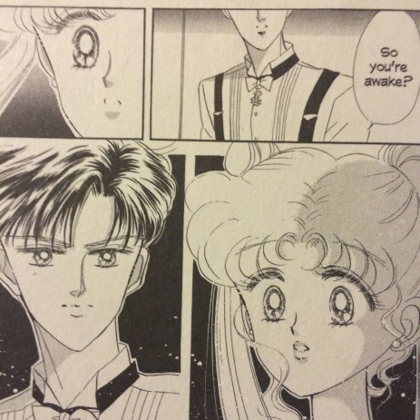 Sailor Moon V2 Mamoru and Usagi