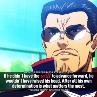 Ace of Diamond quote2