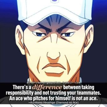 Ace of Diamond quote5